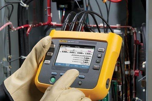 monitoraggio consumi energetici_fluke1730_Gavo Impianti Elettrici