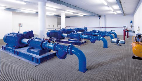 stazioni di pompaggio-gavo impianti elettrici