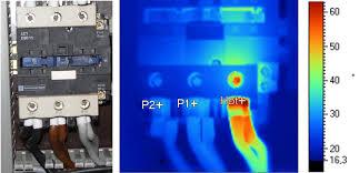 Gavo Impianti Elettrici_termografia_contattore guasto