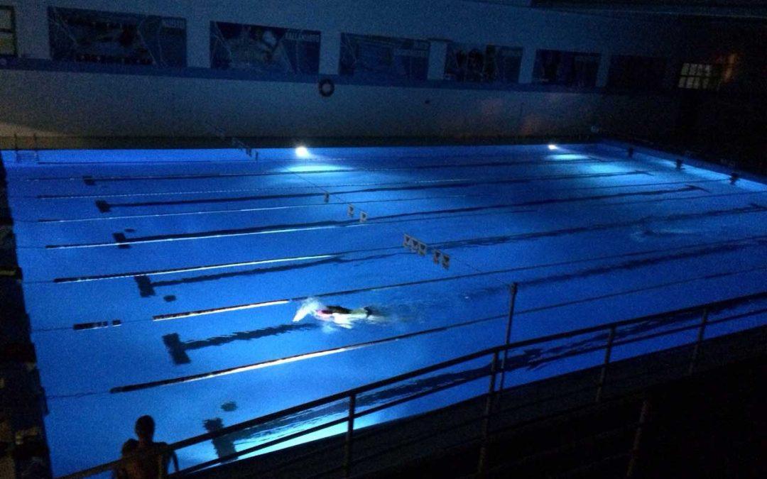 Nuova illuminazione LED per la piscina comunale di Vigevano